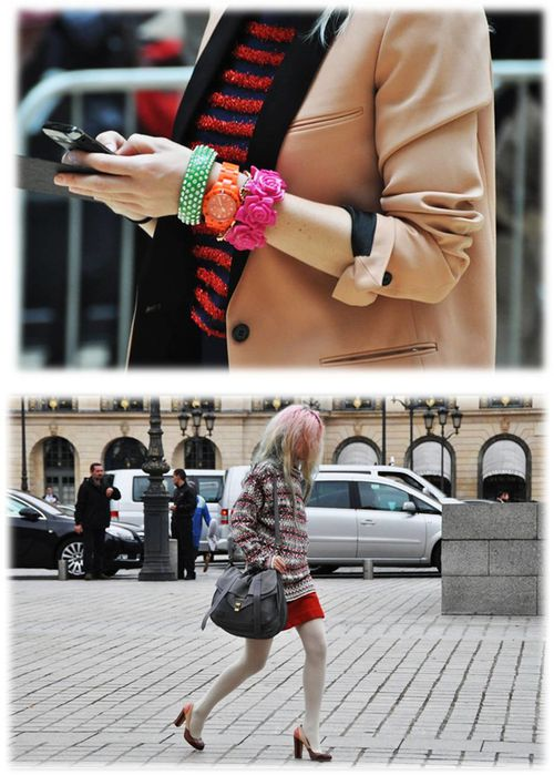 Fashion Ballyhoo- Tommy Ton fashion week Paris 1