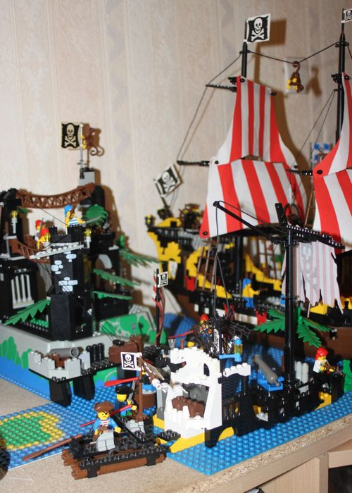 LEGO Pirate 6285 Black Seas Barracuda 23