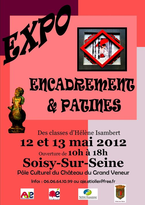Affiche expo 2012