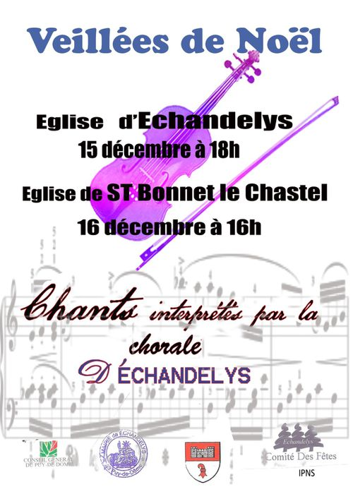 affiche chorale 2012
