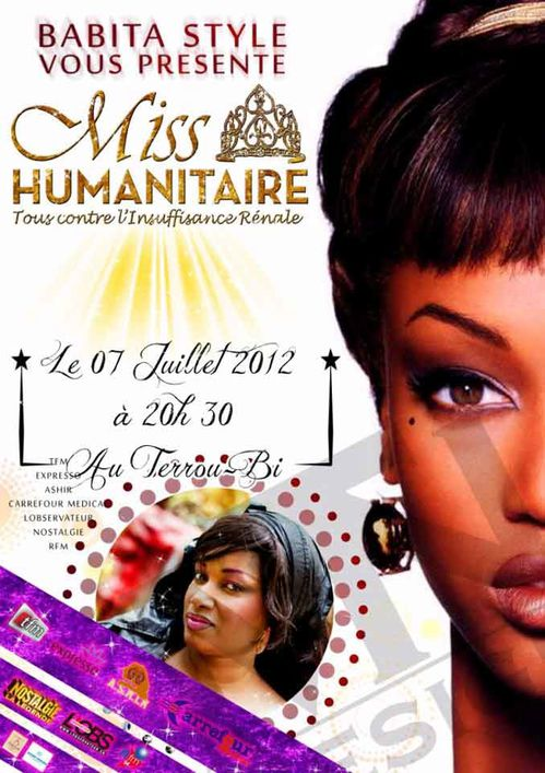 Miss humanitaire affiche