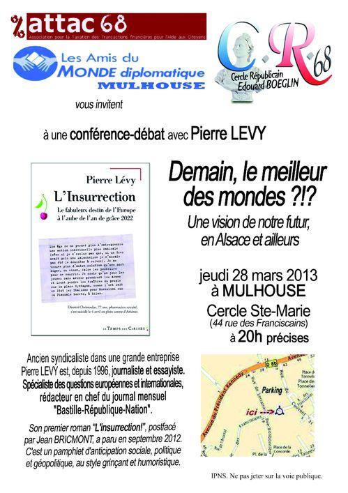 Conf Pierre Lévy 28 mars 2013