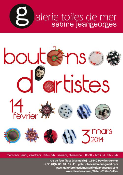 "affiche boutons ""artiste"""