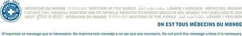 MDM logo - Médecins du Monde