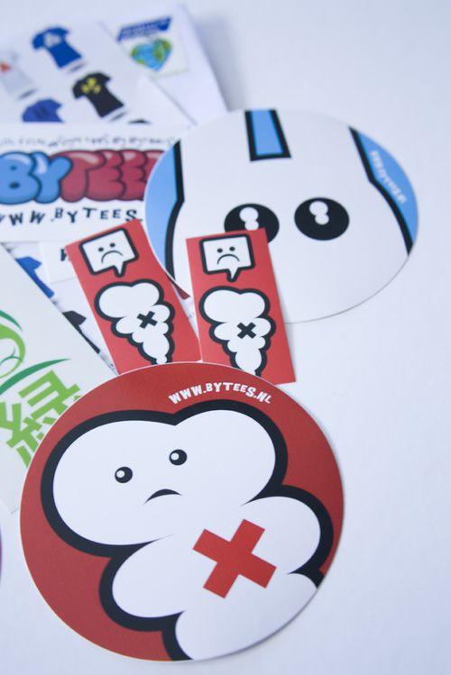 Sticker rond 15