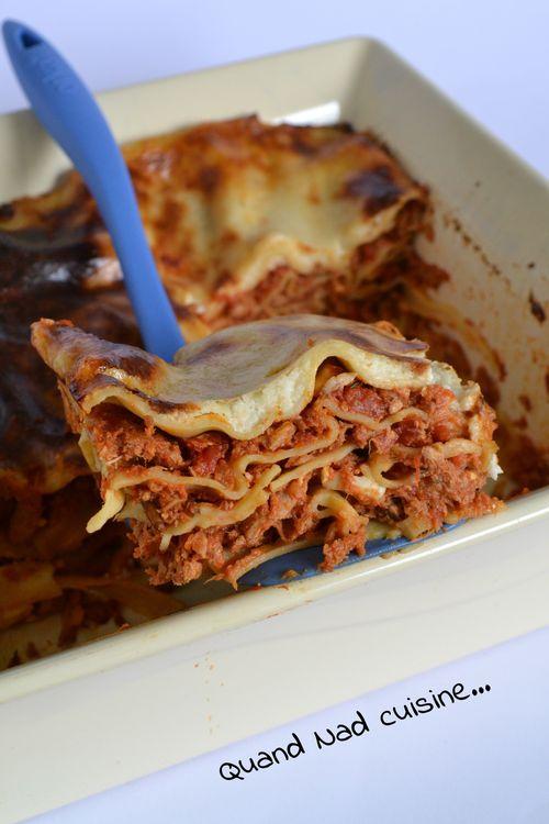 lasagnes thon pignons