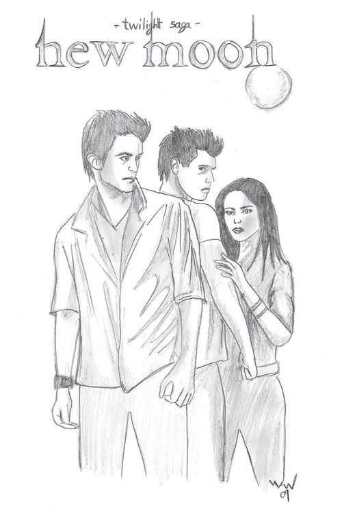 Dessins trouvés sur Internet - Page 3 Twilight-new-moon
