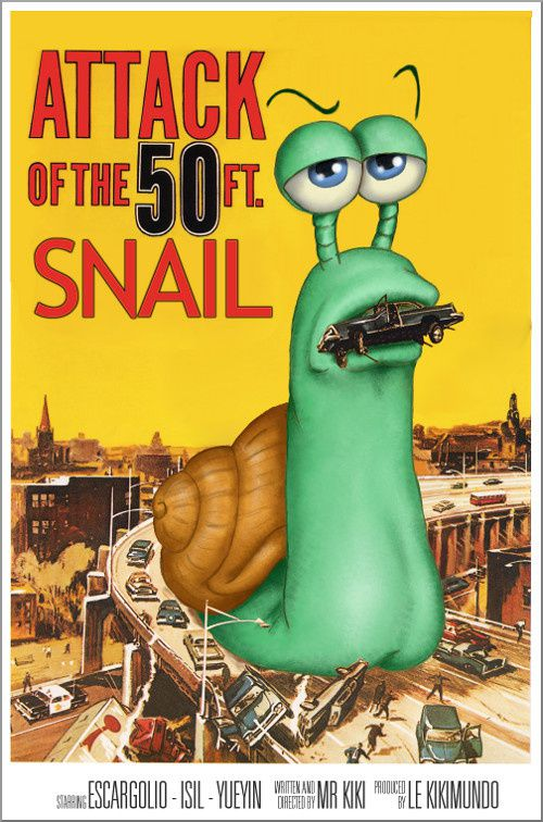 Attack of the 50ft snail
