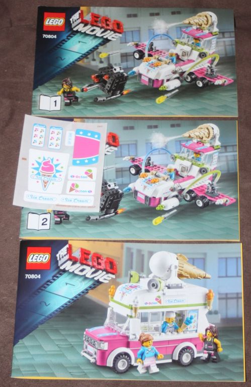 LEGO 70804 The Lego Movie Marchand Glace 05