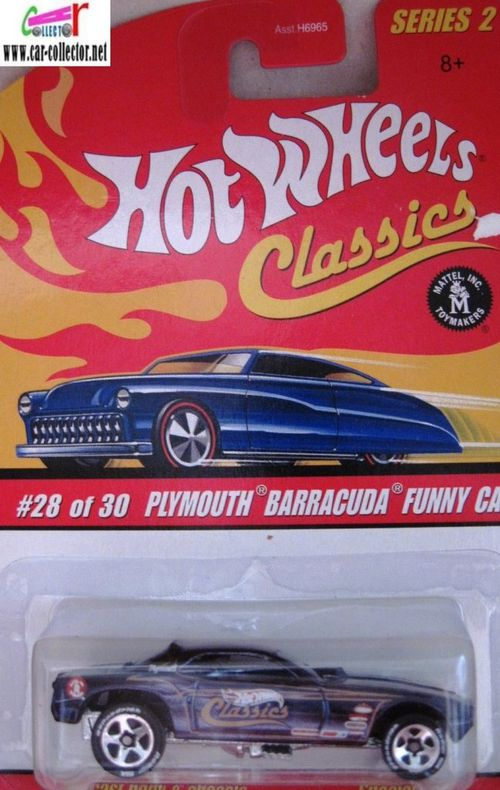 plymouth barracuda funny car hot wheels classics 2-copie-1