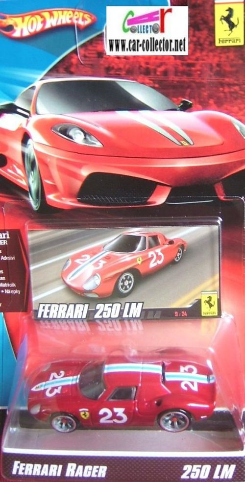 ferrari 250 lm hot wheels ferrari racer 2009