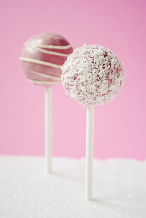 Cake pop's au chocolat noir et blanc 2