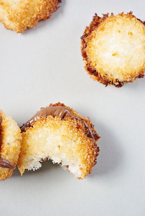 Rocher coco et nutella 1