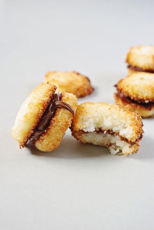 Rocher coco et nutella