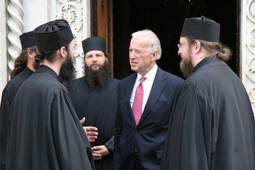 Vice preşedintele american Joseph Biden a vizitat în data de 21 mai 2009, Mânăstirea Visoki Dechani