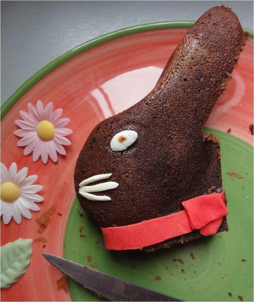Recette gateau chocolat lapin lindt