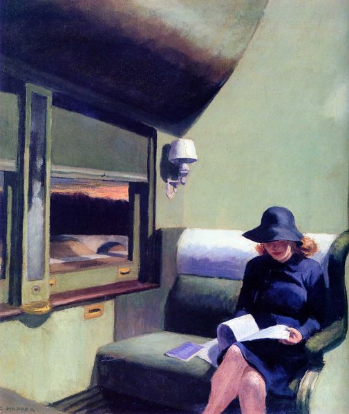 EDWARD HOPPER013compartimenc, voiture 193, 1938