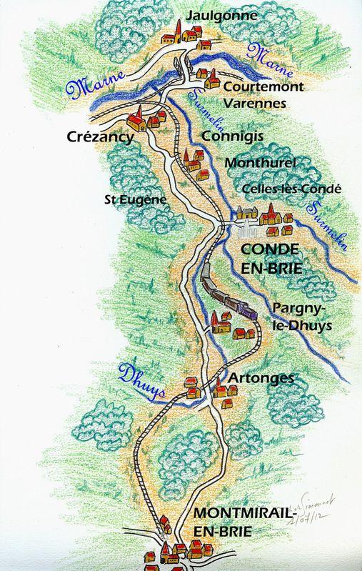Entre Crézancy et Montmirail ( Didier Simonnet )