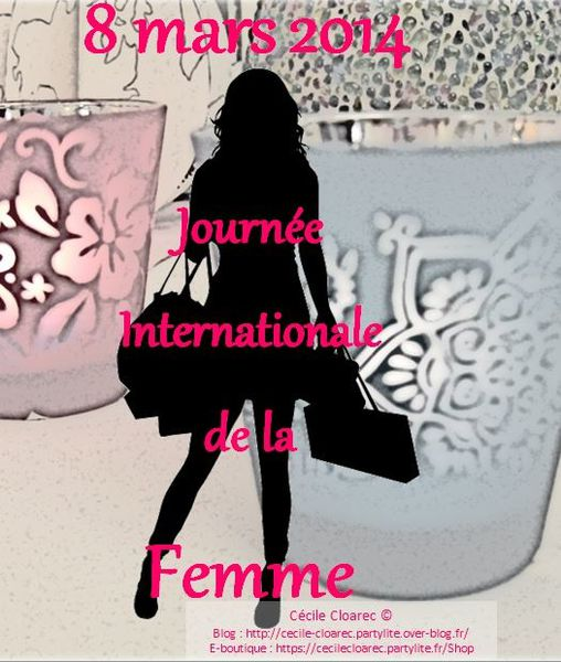 PartyLite Cécile-Cloarec Journée-Internationale-Femme-201
