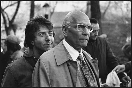 Marathon man - Dustin Hoffman &amp; Sir Laurence Olivier 1