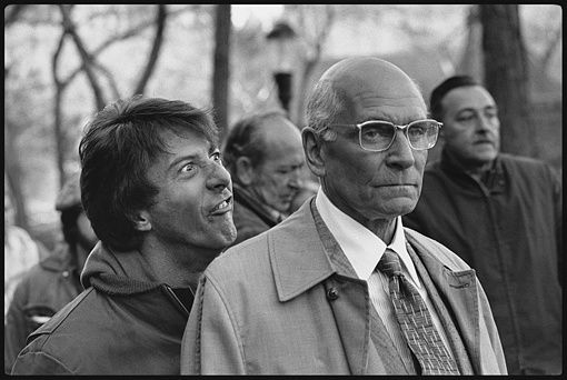 Marathon man - Dustin Hoffman &amp; Sir Laurence Olivier 2
