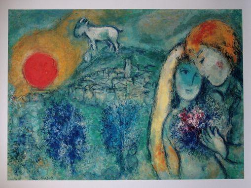 Culture le chemin du bonheur for Marc chagall paris vu de ma fenetre