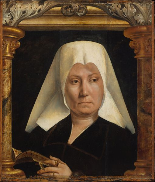 Portrait of a woman Massys Metsys-1280x1503