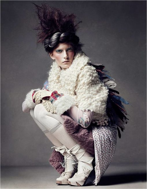 Fashion Ballyhoo - Valerija kelava loof book vogue china 6
