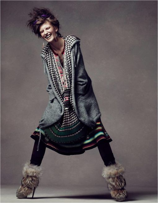 Fashion Ballyhoo - Valerija kelava loof book vogue china 3