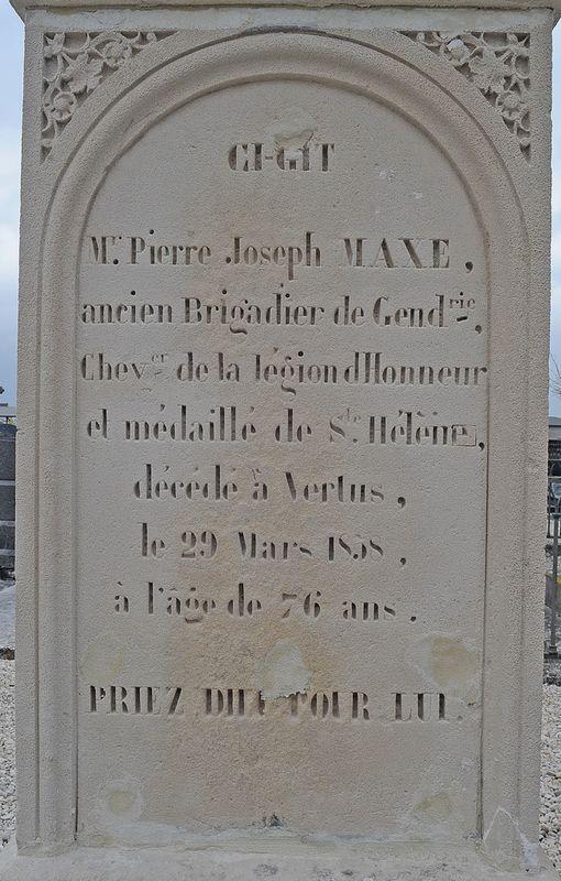 Campagne de France 1814 (34) Pierre Joseph MAXE