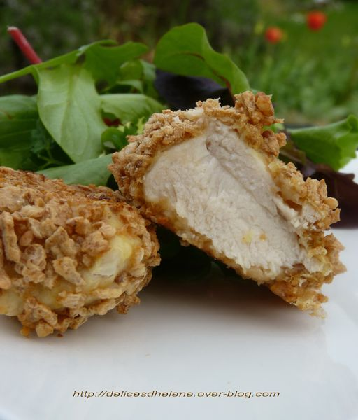 nuggets de poulet aux cornflakes