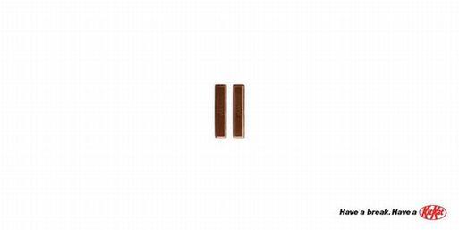 publicite-minimaliste-kitkat