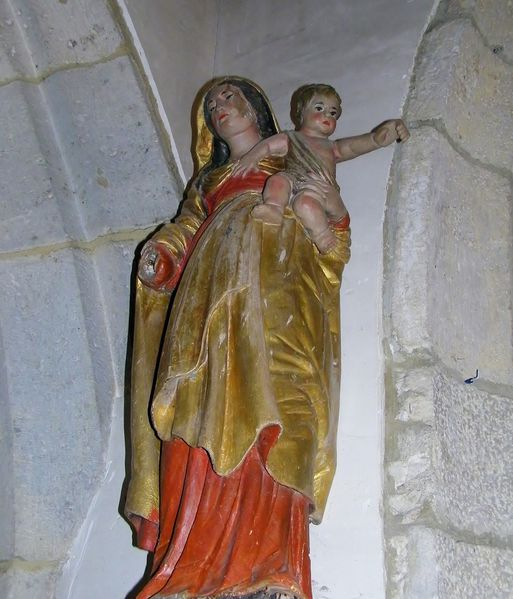 127 Our Lady and Infant, ÉGLISE D'HAINNEVILLE