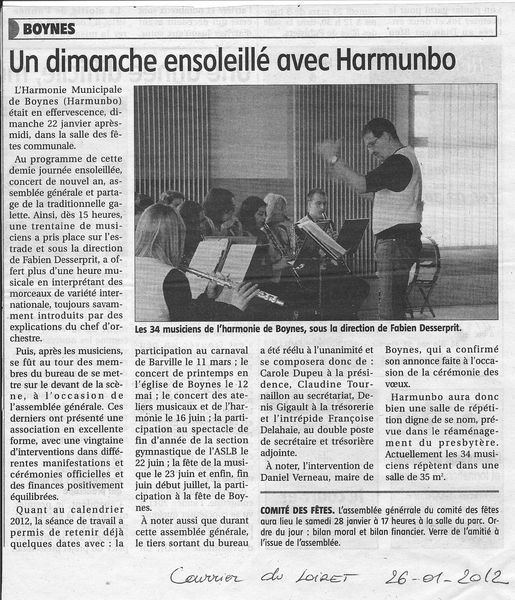 Courrier 26 01 2012