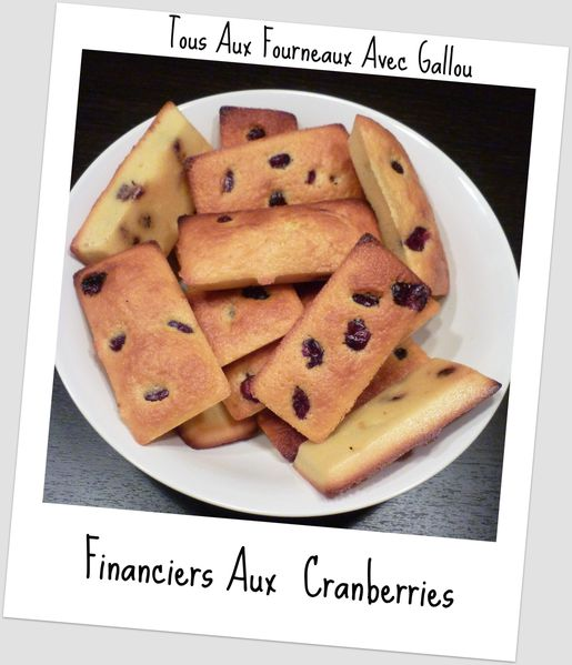 financiers aux cranberries (3)