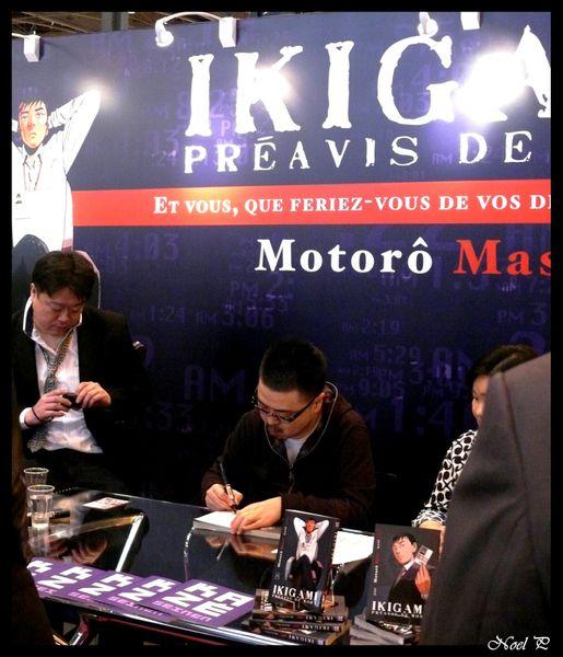 salon du livre mars 2011 (4)motoro mase- Ikigami