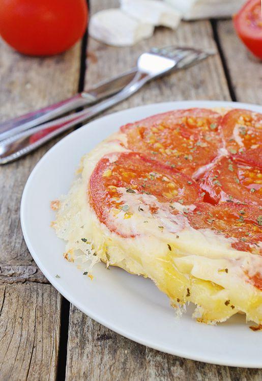 Tarte tatin tomates et chèvre 2