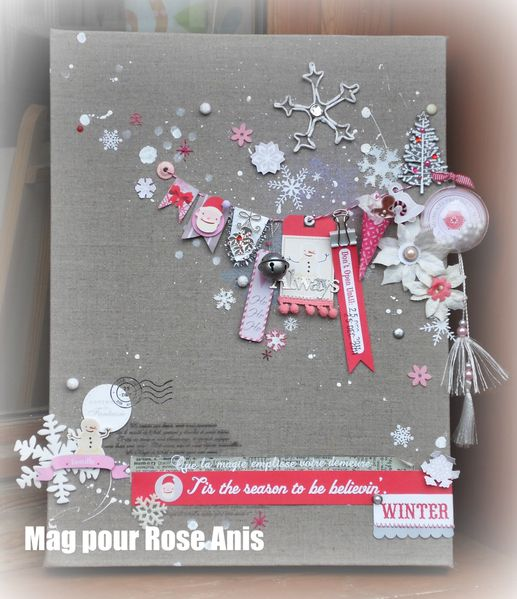Scrap d co de no l le scrap en haute savoie 74 by for Tableau de noel a fabriquer