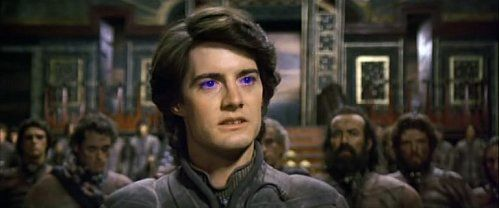 Kyle MacLachlan dans Dune (David Lynch, 1983)