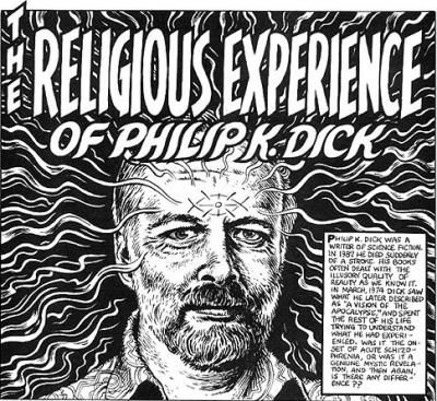 Philip K. Dick par le dessinateur Robert Crumb