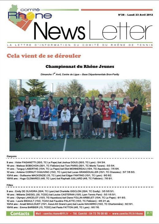 NEWS LETTER 28-0-copie-1