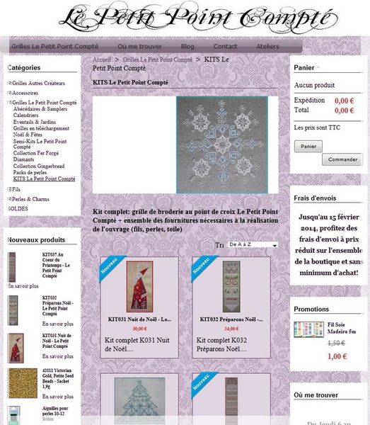 SITE - KITS Le Petit Point Compté