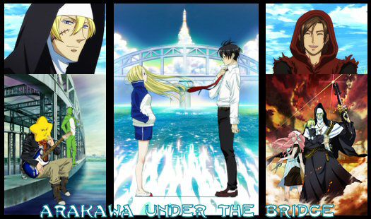 arakawa under the bridge apercu