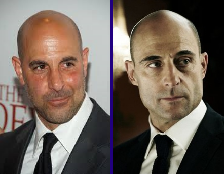Stanley Tucci VS Mark Strong