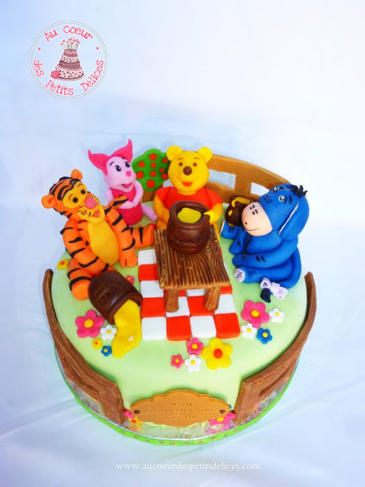decoration gateau winnie l\u0027ourson
