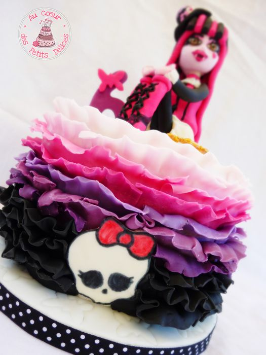 Souvent Gâteau Monster high baroque - MT05