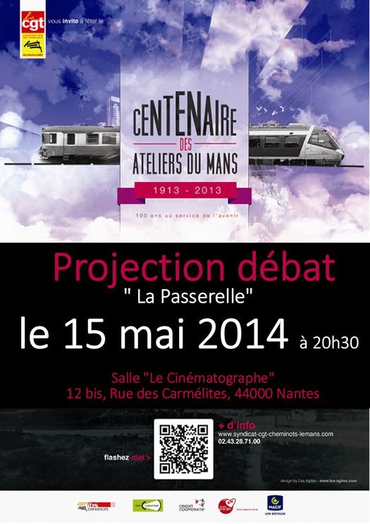 affiche projection nantes