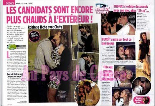 cindy et robin en couple closer
