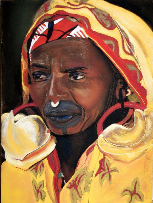 africaine pastel