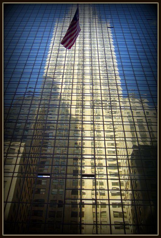 reflet du Chrysler building